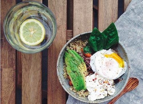 quinoa bar vege