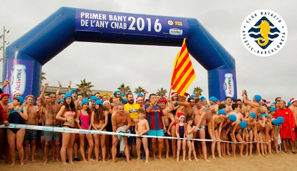 Barcelona New Year's Swim 2018