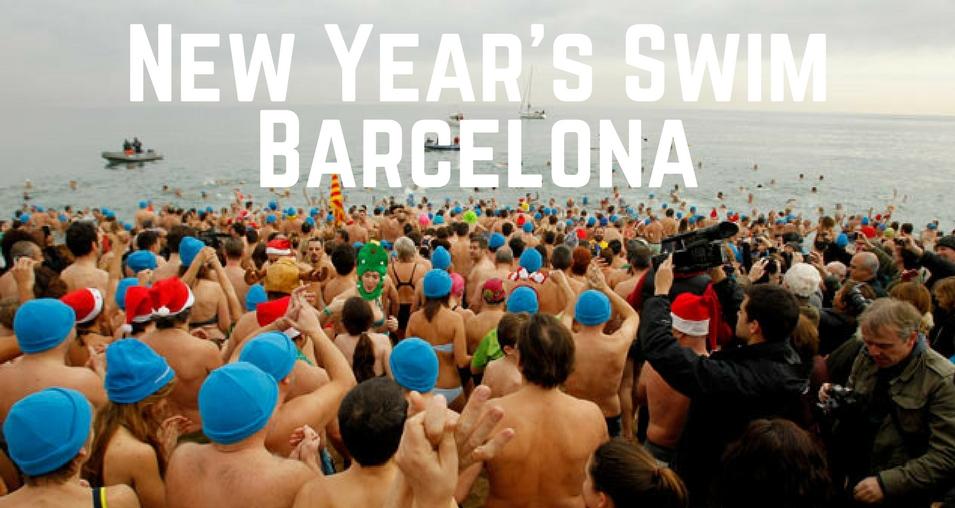 new year swim
