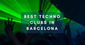 Best techno clubs in Barcelona