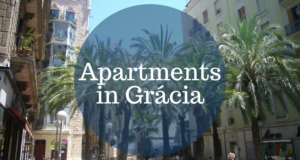 Apartments in Gracia