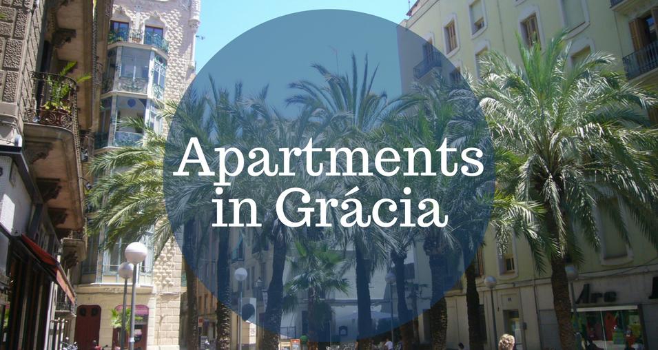 Apartments in Gracia