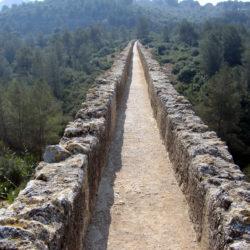 The Ferreres Aqueduct barcelona
