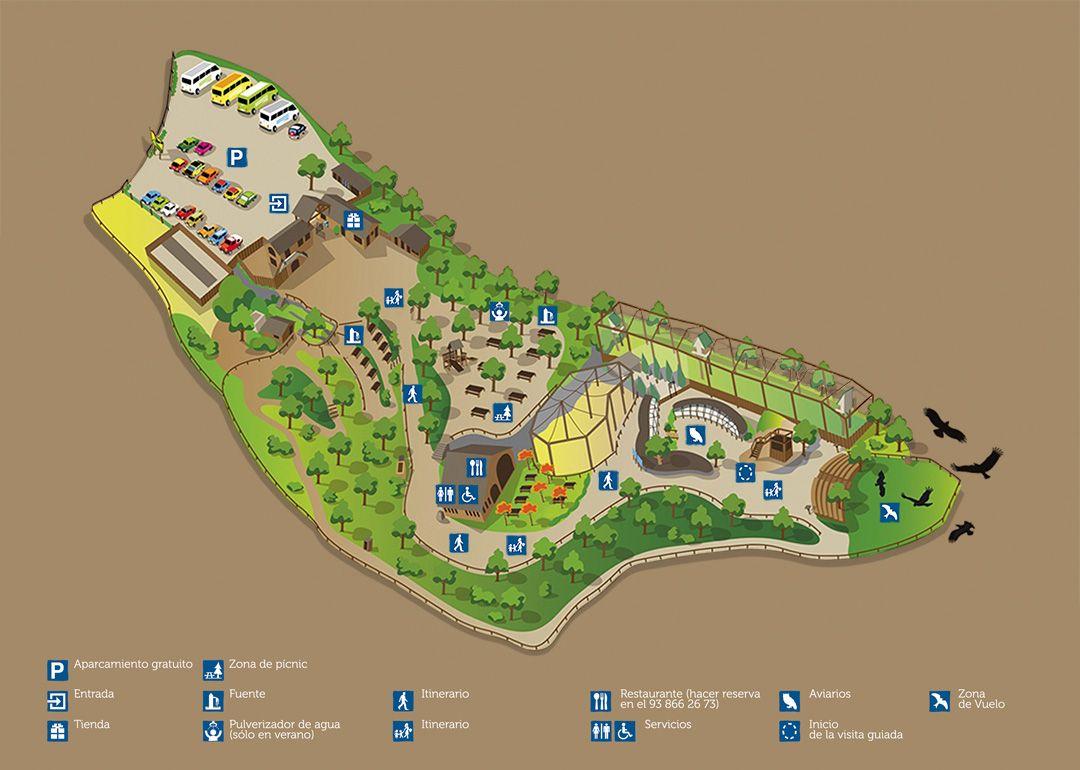 map of Cim d'Aligues