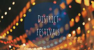 District festivals