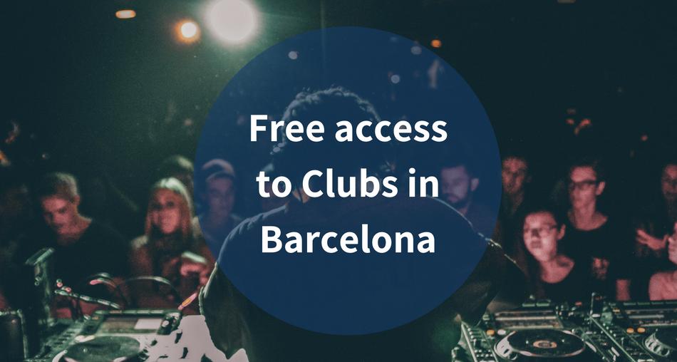 Accès Gratuit Aux Boîtes De Nuit De Barcelone Barcelona