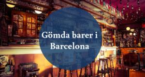 Gömda barer i Barcelona