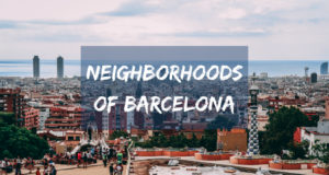 Neighborhoods of Barcelona
