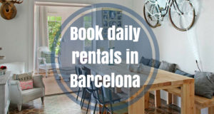 Book daily rentals in Barcelona