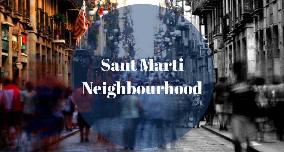 Sant Marti Neighbourhood