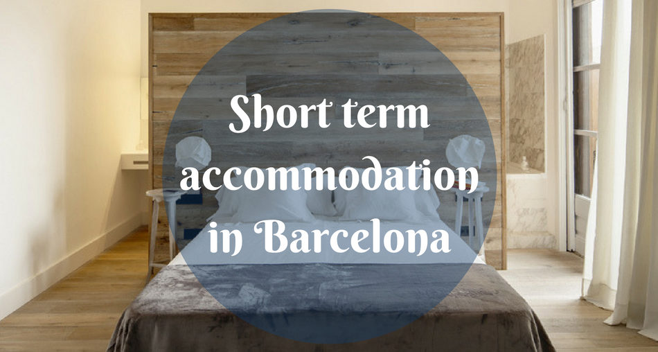 Short term accommodation in Barcelona