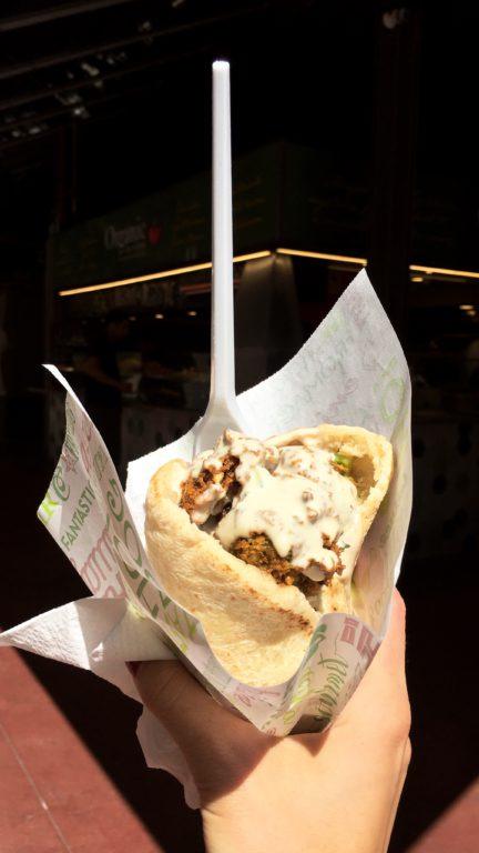 Falafel in Falafel Vegano, Barcelona