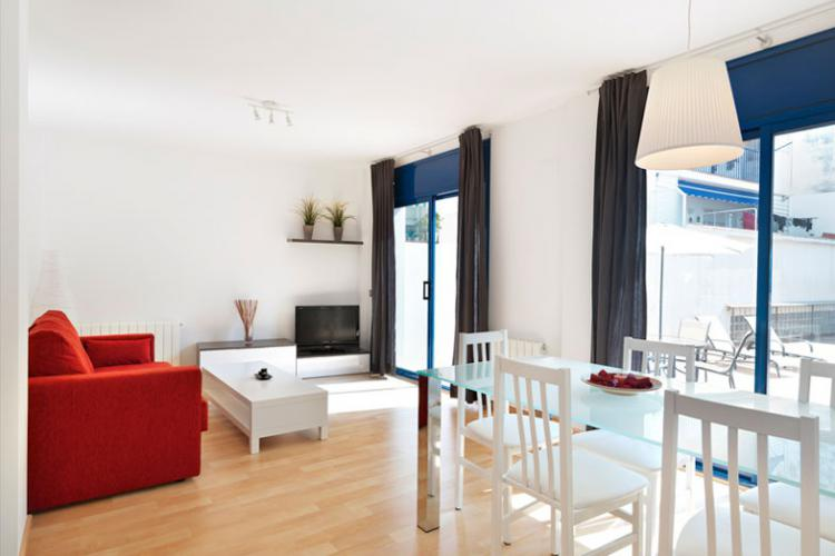 Simple yet very comfy apartment in Sitges