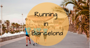 Running in Barcelona