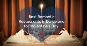 romantic restaunts in Barcelona