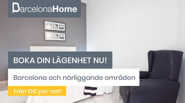 Boka din lägenhet nu!