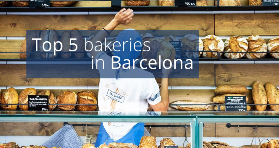 Top 5 bakeries in Barcelona