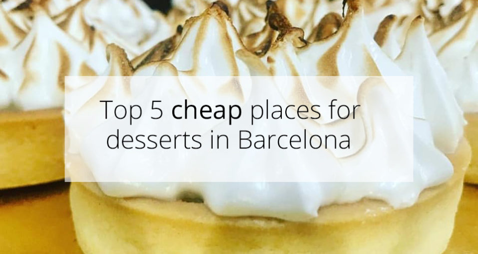 cheap desserts