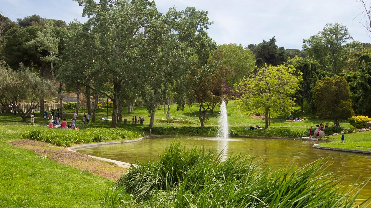 Parc Montjuic - parchi di barcellona