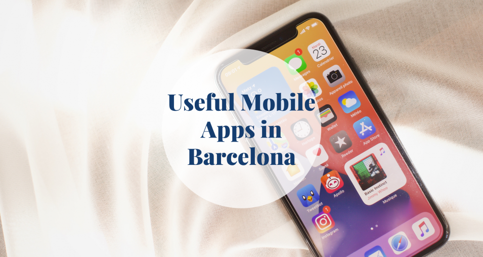 mobile app - Barcelona-home