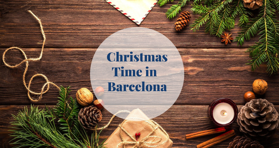 Christmas time in Barcelona