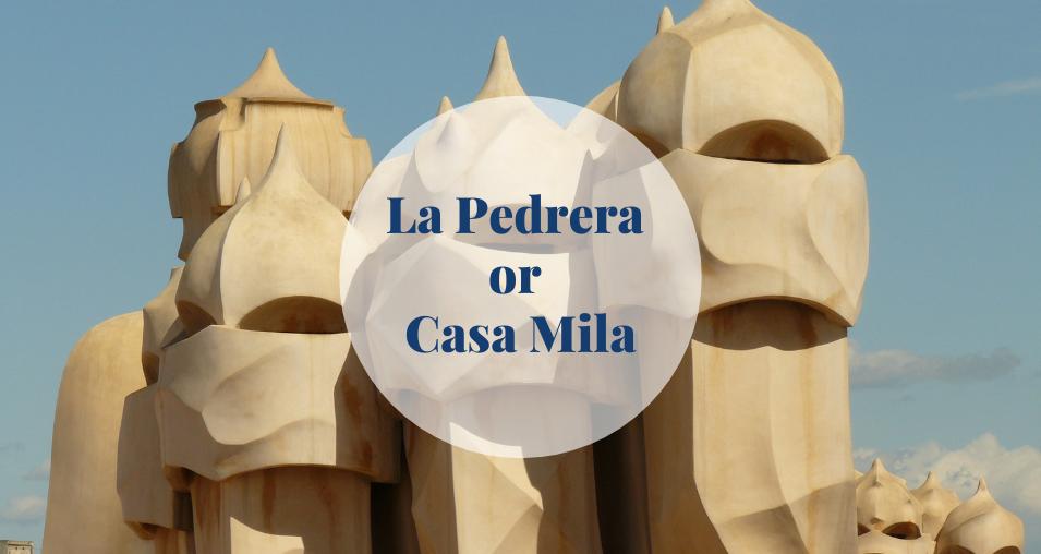 La Pedrera or Casa Mila Barcelona-Home