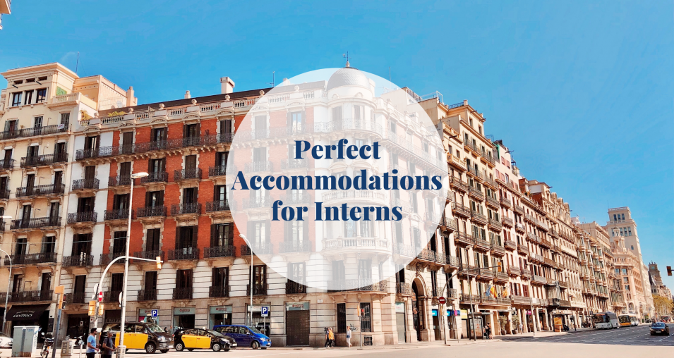accommodations for interns - Barcelona-home