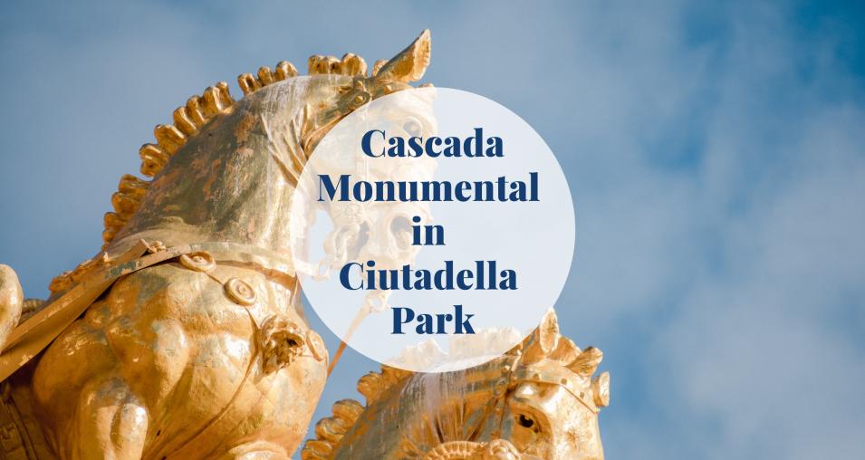 Cascada Monumental - Barcelona-home