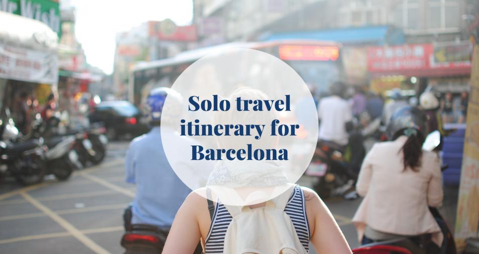 solo travel - Barcelona-home