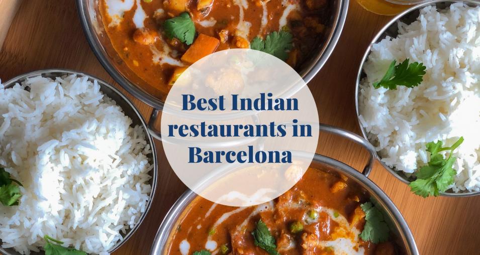 Indian restaurants - Barcelona-home