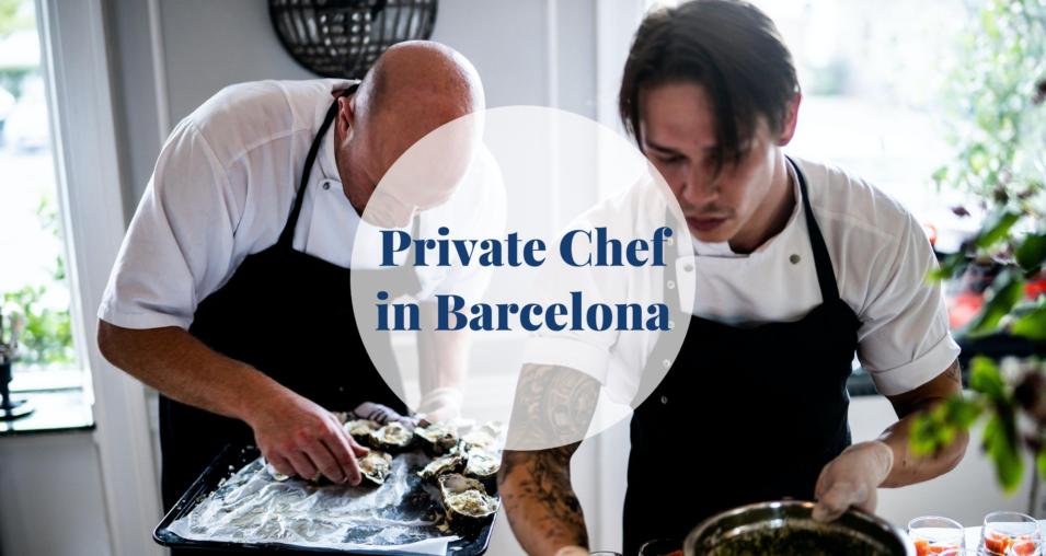 Private chef in Barcelona