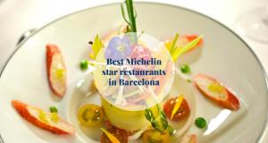 Best Michelin star restaurants in Barcelona