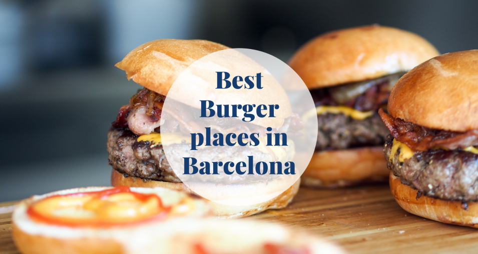Best Burger places in Barcelona Barcelona-Home