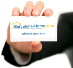 Programa de afiliación de Barcelona home