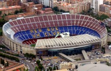 FC Barcleonas fantastiska hemarena Camp Nou