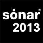 Logo of the Sonar festival 2013