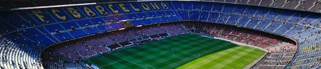 camp nou gradas walks tour walk Barcelona