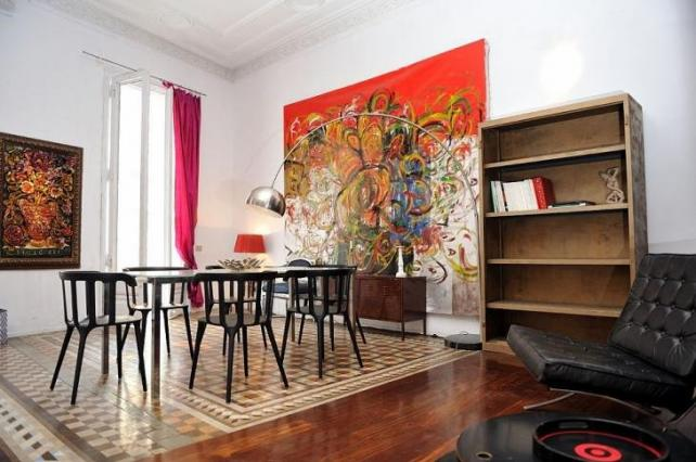 Luxury apartment for events at plaza Catalunya