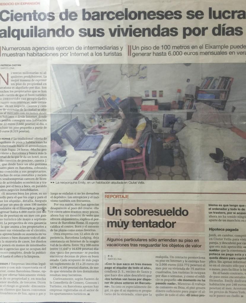 presse og samarbeid med Barcelona-Home