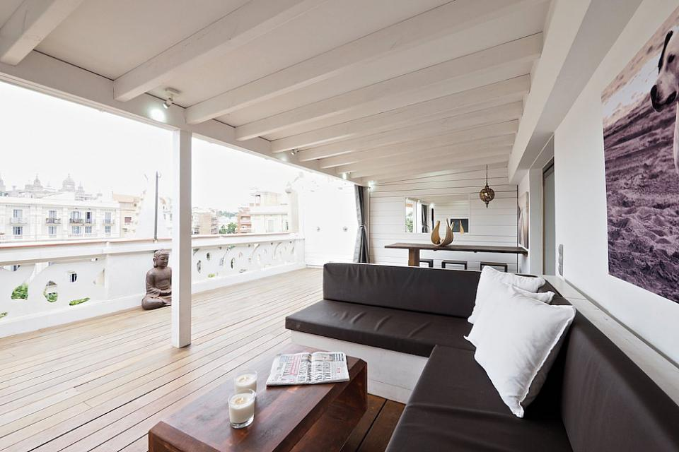 Luxurious attic apartment in barcelona events and guide - Setting up an attic apartment ...