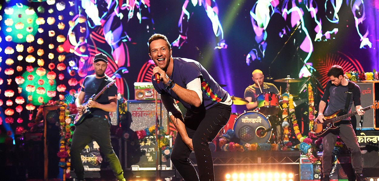 Coldplay In Barcelona