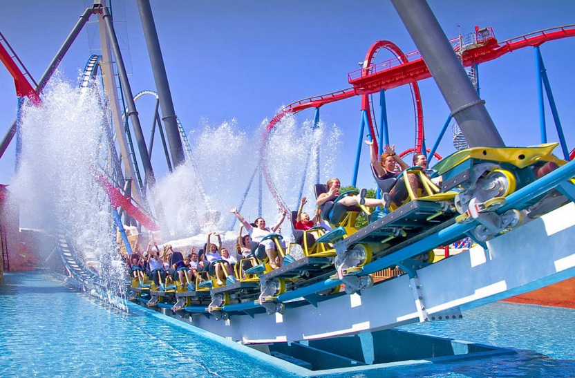 portaventura and land optional roundtrip barcelona home things to do