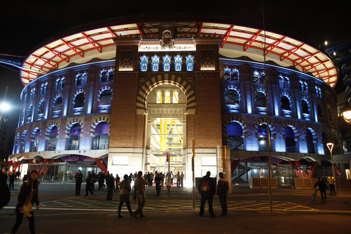 Arenas de barcelona shopping mall events and guide barcelona for Cinema montjuic 2016