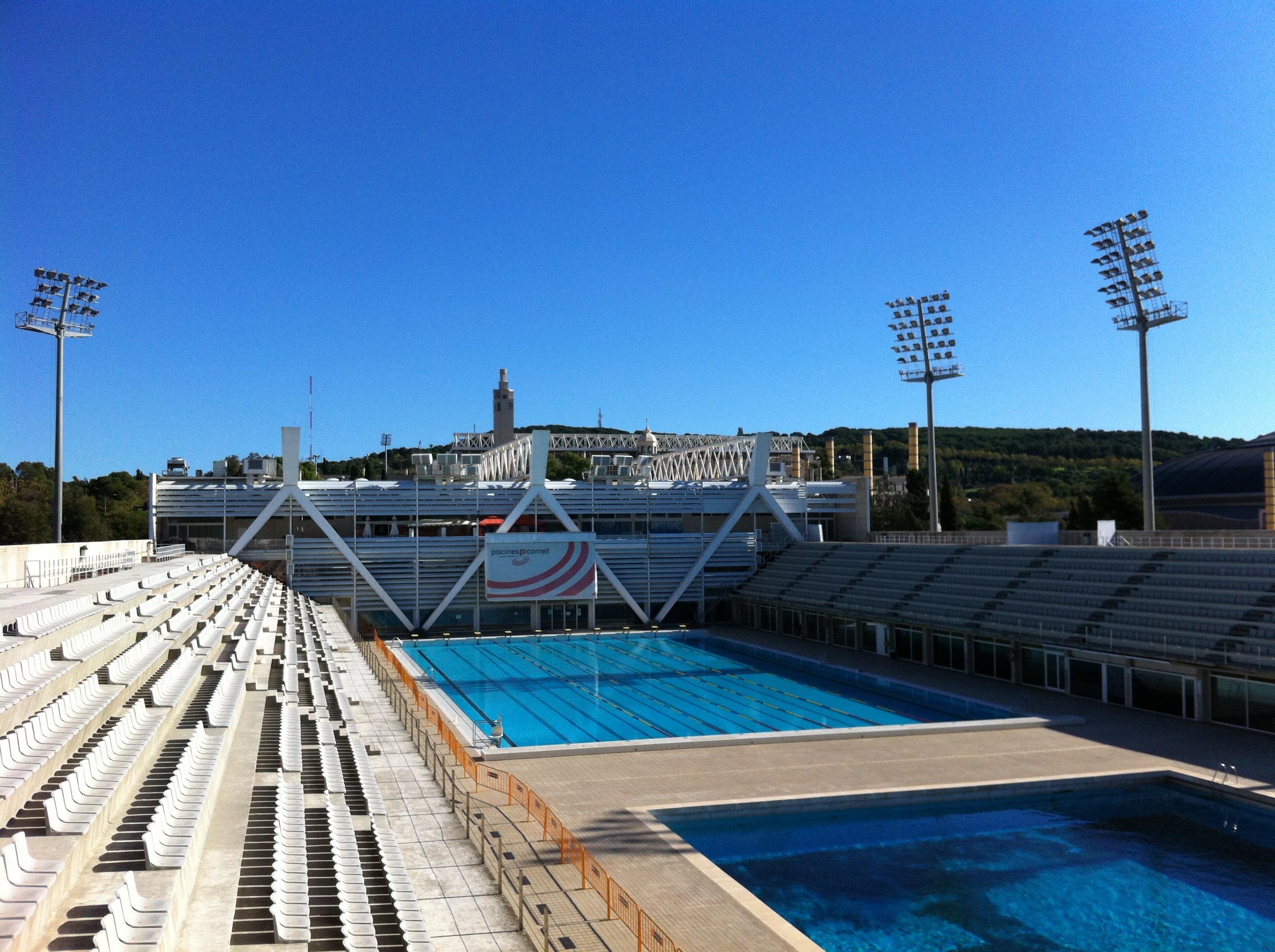 Piscines Bernat Picornell Swimming Pool Directory Barcelona Home