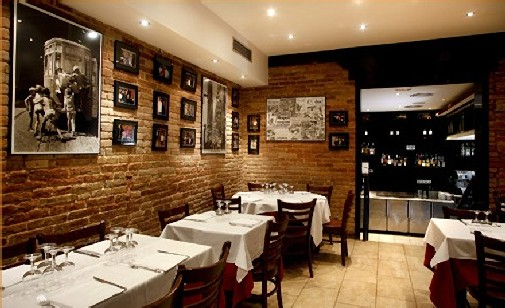 La bella napoli italian restaurant events and guide - Interior designer napoli ...