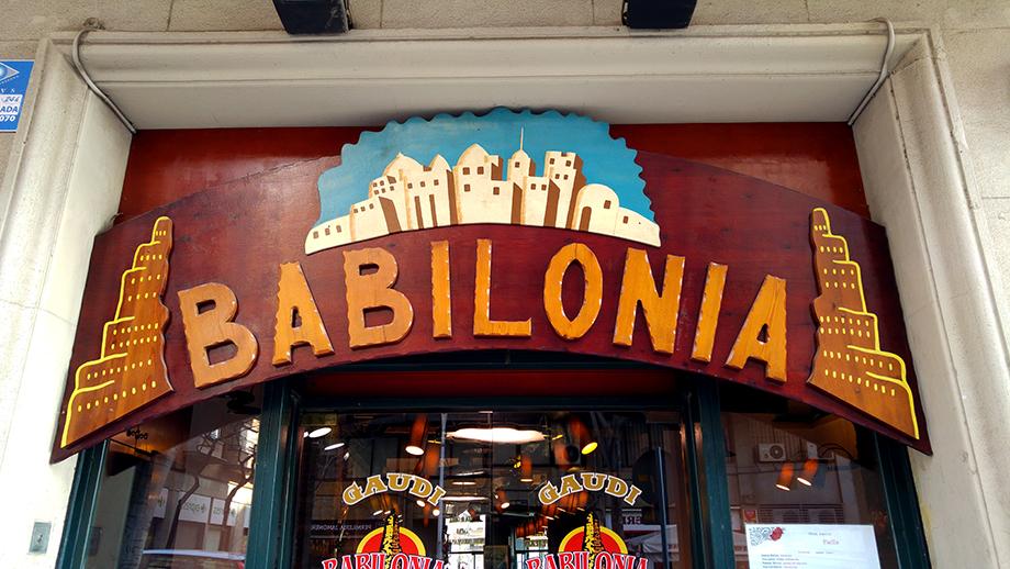 babilonia spanish restaurant barcelona events and guide