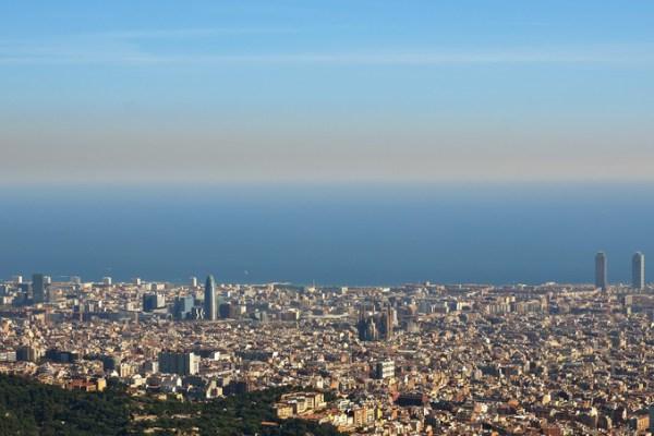 Barcelona pollution