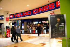 Yelmo cines events and guide barcelona for Yelmo cines barcelona