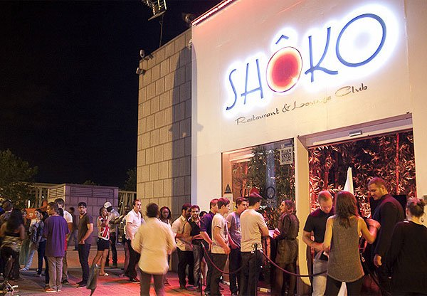 Sh ko barcelona events and guide barcelona for Shoko barcelona lista