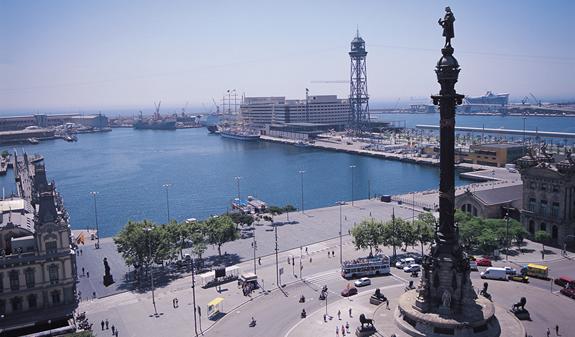 Columbus Monument, Barcelona Barcelona-Home